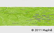 Physical Panoramic Map of Saint-Germain-en-Laye