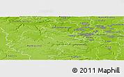 Physical Panoramic Map of Versailles