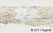 Classic Style Panoramic Map of Limoux