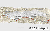 Classic Style Panoramic Map of Prades