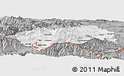 Gray Panoramic Map of Prades