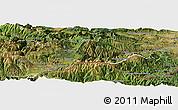 Satellite Panoramic Map of Prades
