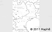 Blank Simple Map of Languedoc-Roussillon