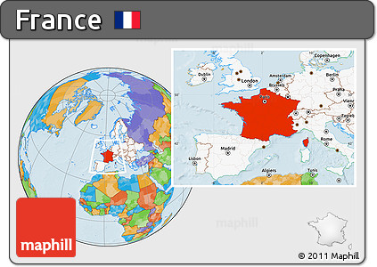Free political location map of france highlighted continent highlighted continent political location map of france highlighted continent gumiabroncs Gallery