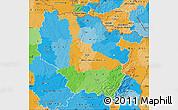 Political Map of Lorraine
