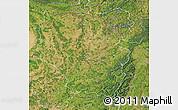 Satellite Map of Lorraine