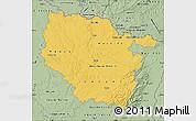 Savanna Style Map of Lorraine