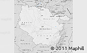 Silver Style Map of Lorraine
