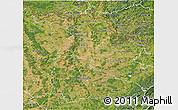 Satellite 3D Map of Meurthe-et-Moselle