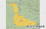 Savanna Style 3D Map of Meurthe-et-Moselle
