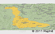 Savanna Style Panoramic Map of Meurthe-et-Moselle