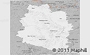 Gray Panoramic Map of Meuse