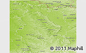 Physical Panoramic Map of Meuse