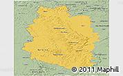 Savanna Style Panoramic Map of Meuse