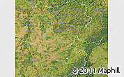 Satellite Map of Moselle