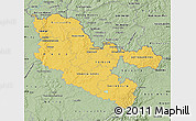 Savanna Style Map of Moselle