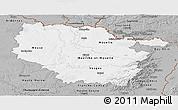 Gray Panoramic Map of Lorraine
