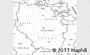 Blank Simple Map of Lorraine