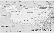 Silver Style Map of Vosges