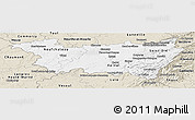 Classic Style Panoramic Map of Vosges