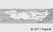 Gray Panoramic Map of Vosges