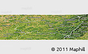 Satellite Panoramic Map of Vosges