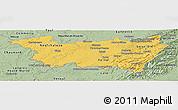 Savanna Style Panoramic Map of Vosges