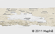 Classic Style Panoramic Map of Pamiers