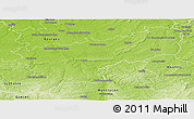 Physical Panoramic Map of Saint-Amand-Montrond