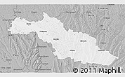 Gray 3D Map of Mirande