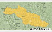 Savanna Style 3D Map of Mirande