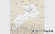 Classic Style Map of Haute-Garonne