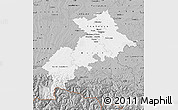 Gray Map of Haute-Garonne