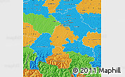 Political Map of Haute-Garonne