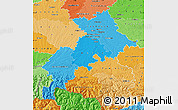 Political Shades Map of Haute-Garonne