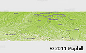 Physical Panoramic Map of Muret