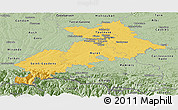 Savanna Style Panoramic Map of Haute-Garonne