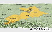 Savanna Style Panoramic Map of Haute-Garonne