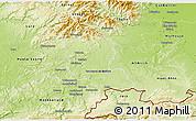 Physical 3D Map of Territoire-de-Belfort
