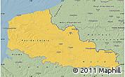 Savanna Style Map of Nord-Pas-de-Calais