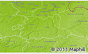 Physical 3D Map of Cambrai