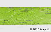 Physical Panoramic Map of Cambrai