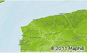 Physical 3D Map of Calais