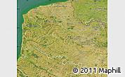 Satellite Map of Pas-de-Calais