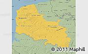 Savanna Style Map of Pas-de-Calais