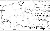 Blank Simple Map of Nord-Pas-de-Calais
