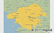 Savanna Style 3D Map of Loire-Atlantique