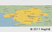 Savanna Style Panoramic Map of Loire-Atlantique