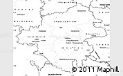 Blank Simple Map of Loire-Atlantique