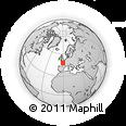 Outline Map of Segré